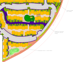 An Appartment Layout On The Drawing Board for Bend, Oregon